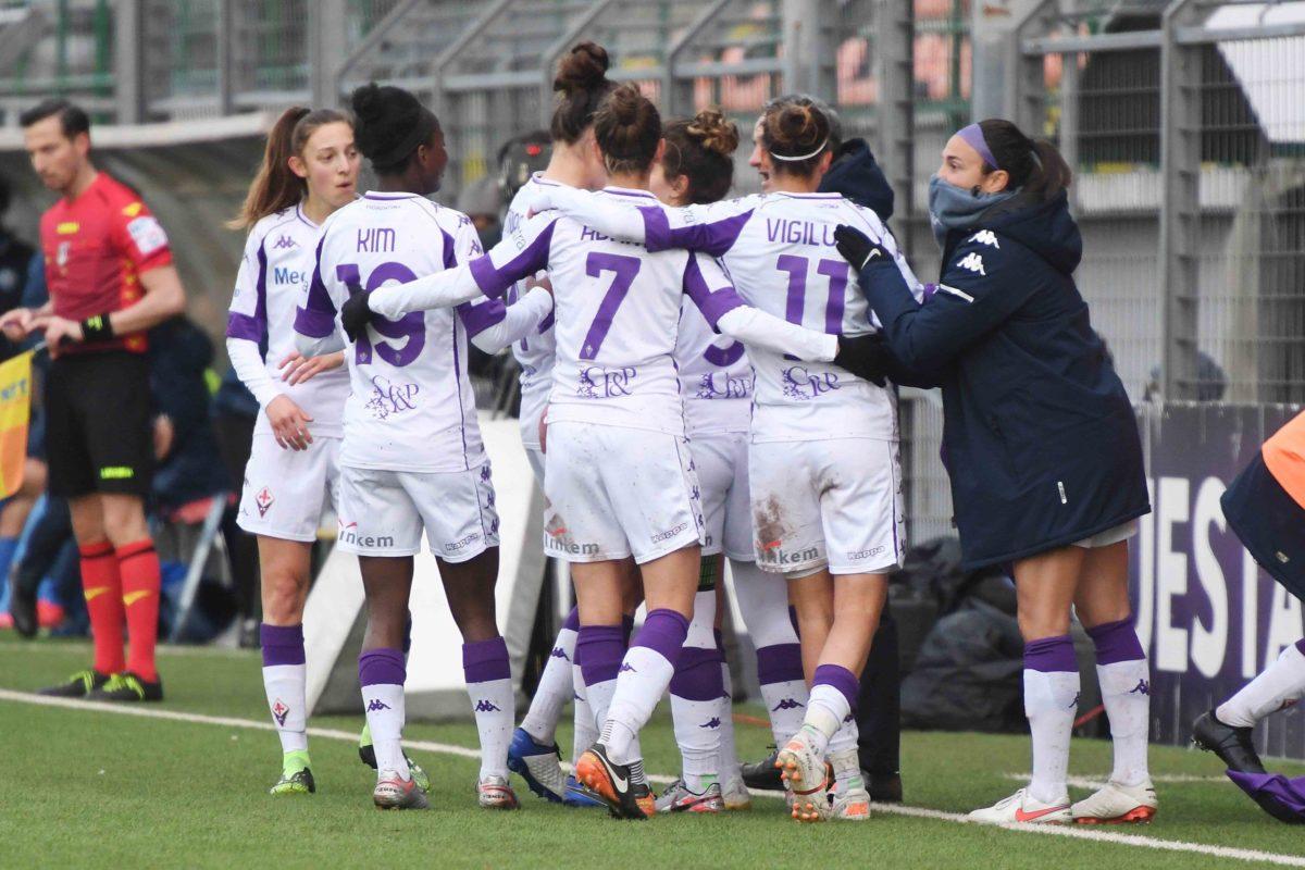 Fiorentina femminile: ufficiali le date dei quarti di Coppa Italia contro l'Inter
