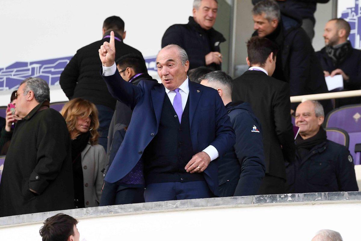 Calcio: dal Franchi anche le poche parole del Presidente Rocco Commisso
