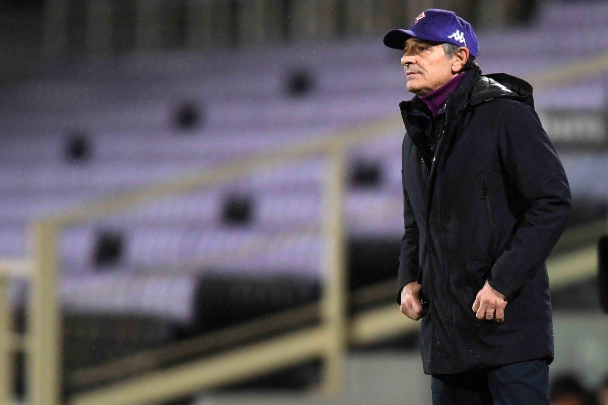 Calcio: la sala Stampa di Cesare Prandelli