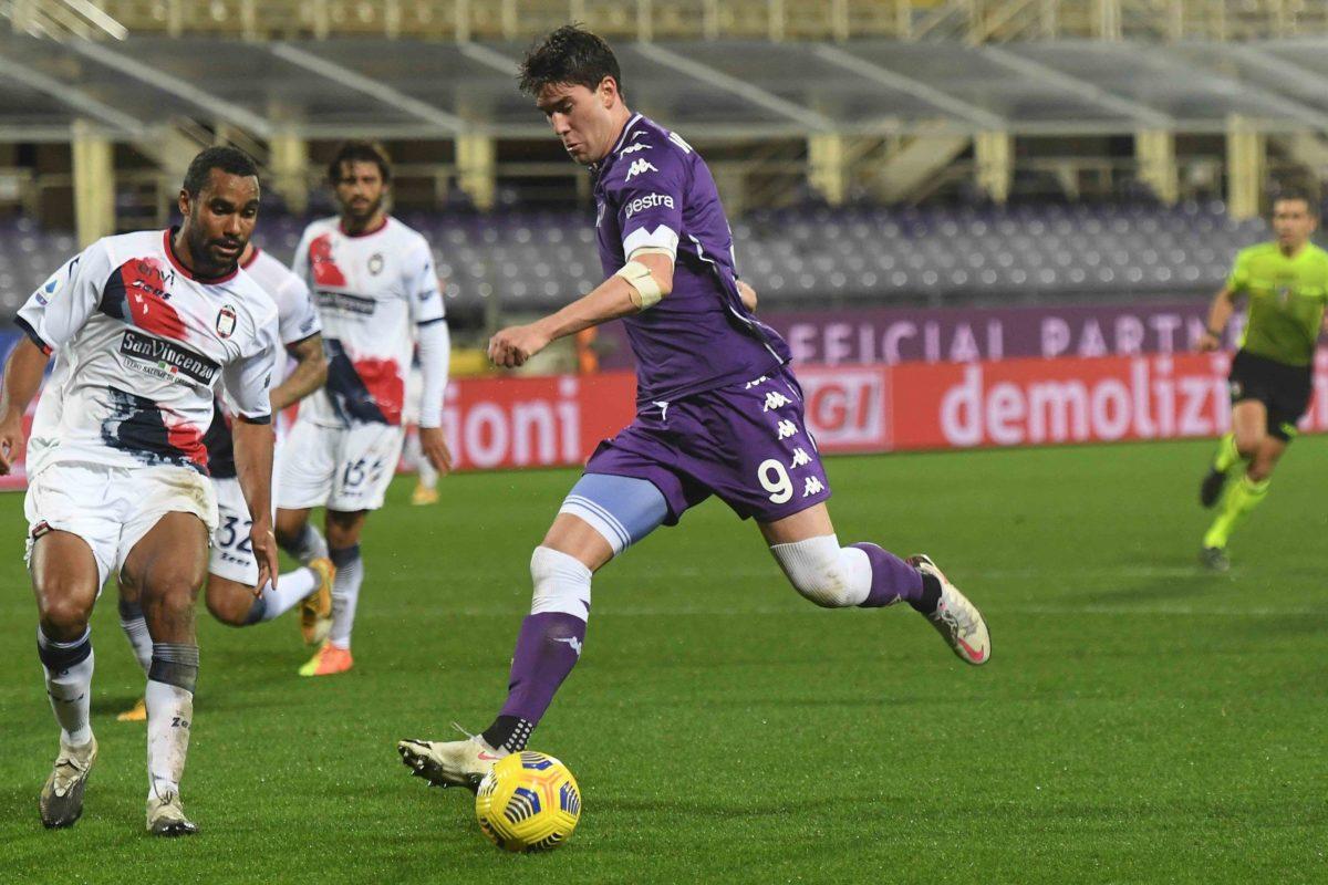 Calcio: le parole di Dusan Vlahovic