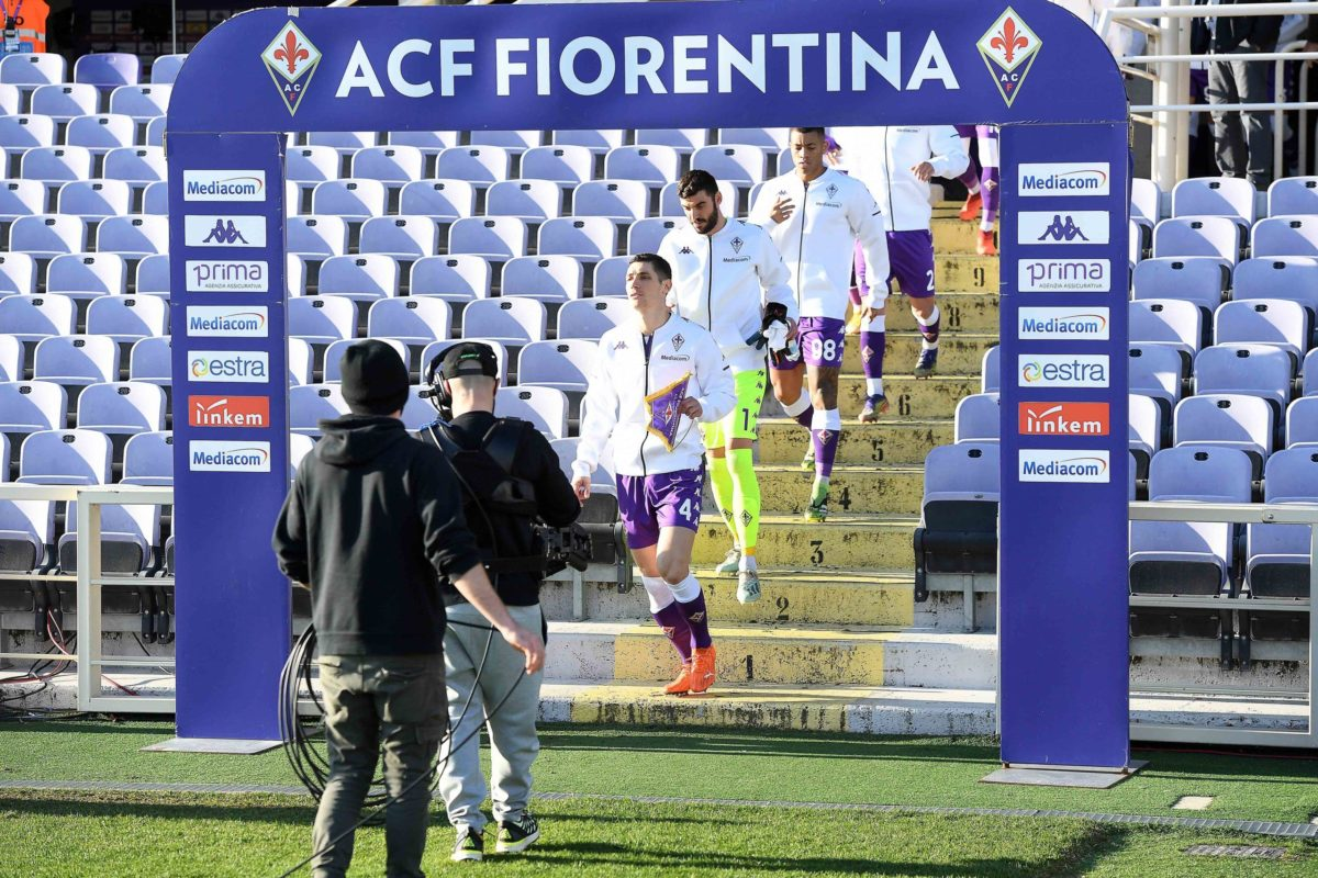 Le foto di Fiorentina-Inter ottavi di finale di Coppa Italia