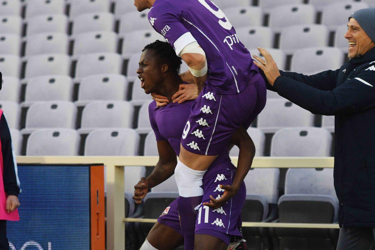 Una bella Fiorentina cade solo ai supplementari con l'Inter. Non basta il gol di Kouame, buono il dato per l'attacco viola