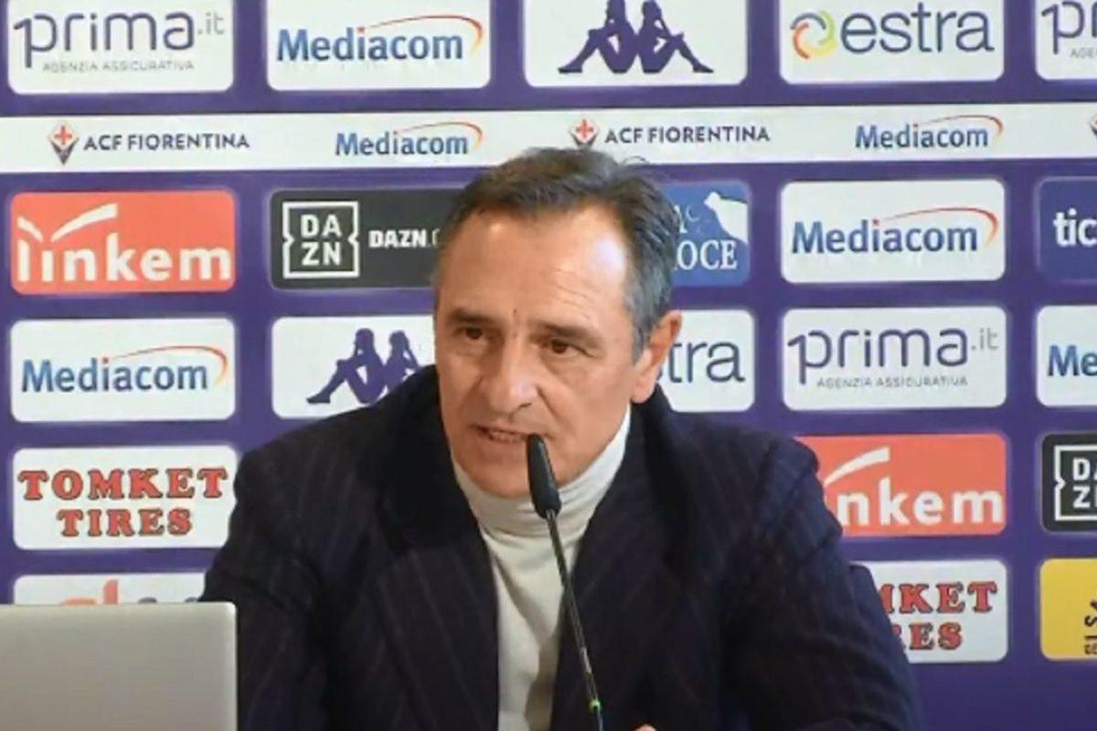 """calcio:Pre-Genova """"sponda"""" Samp:Prandelli:"""" Non farà mai polemiche non sarò mai un problema"""""""