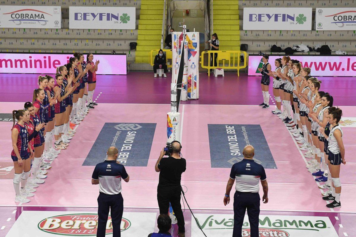 Volley – Savino del Bene Scandicci vs Reale Mutua Fenera Chieri. Le foto della partita