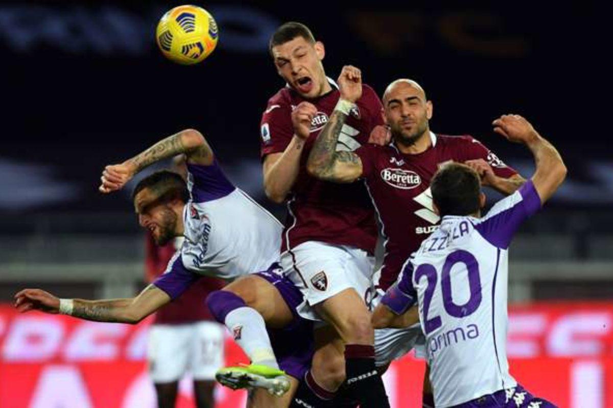 """Calcio: Al """"Grande Toro"""" una Fiorentina """"sulle barricate"""" si vede raggiunta all'88° in 9: 1-1 ; le pagelle del Direttore"""