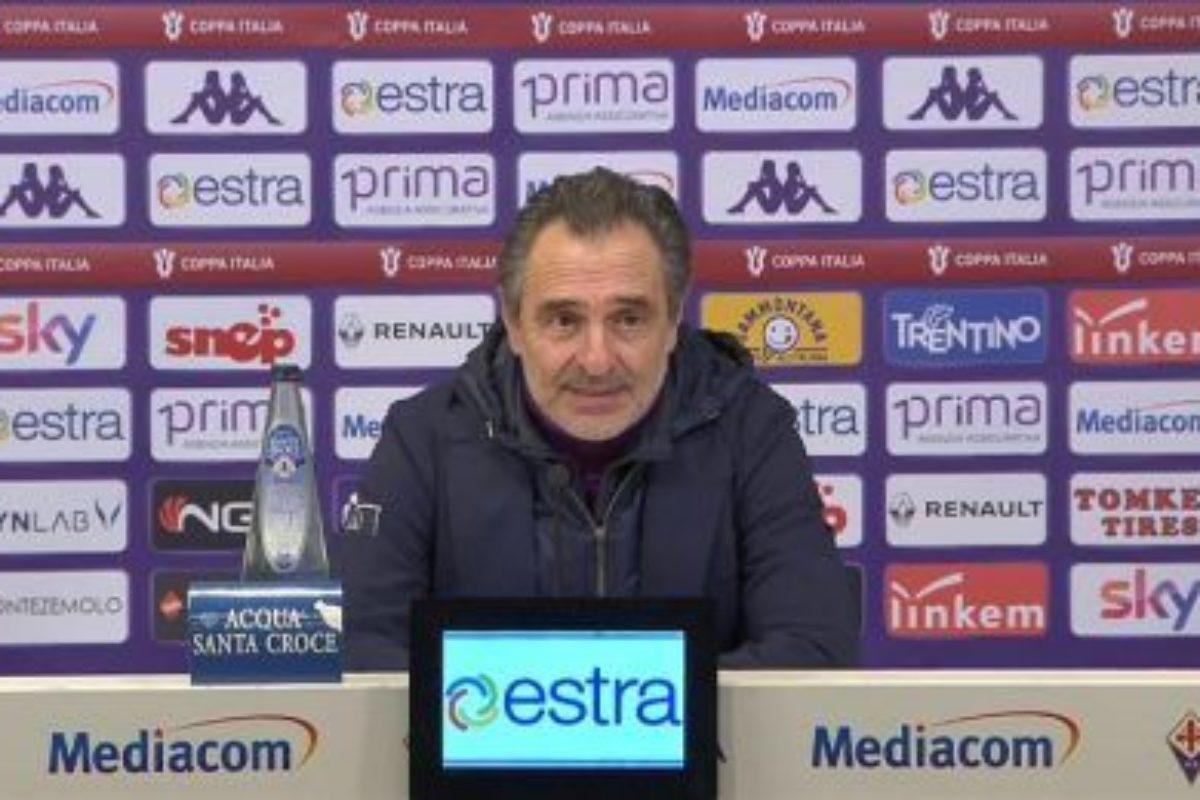 Calcio: Dopo il disastro viola Mister Prandelli chiede scusa a tutti..