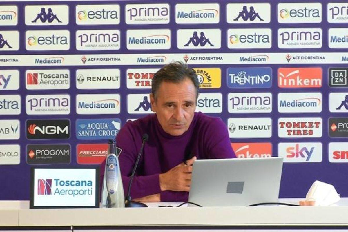 CALCIO- La Conferenza Stampa di Cesare Prandelli pre Fiorentina- Inter di Coppa Italia