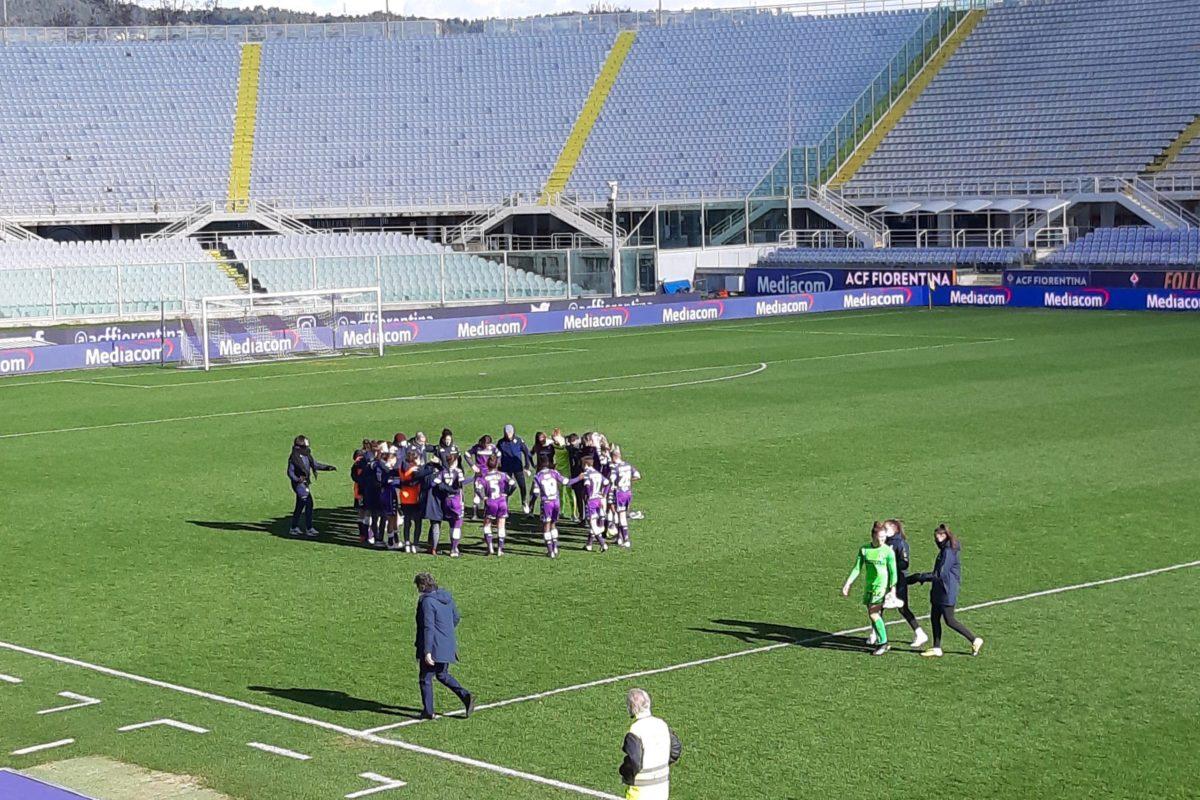 La Fiorentina femminile batte l'Inter 1-0, ma non basta ed esce dalla Coppa Italia