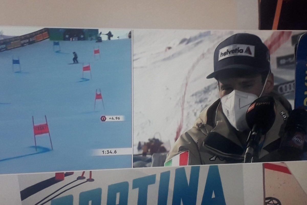 Sci: Argento mondiale per Luca De Aliprandini nel gigante a Cortina.