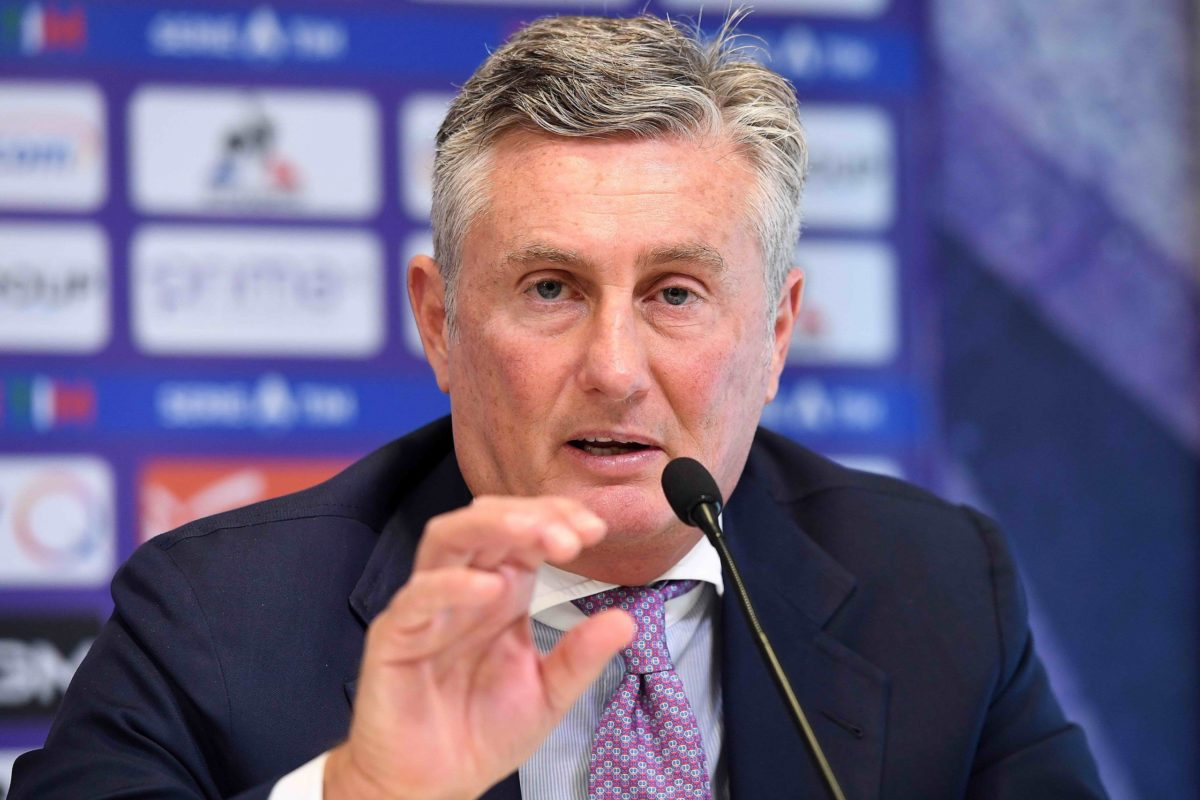 Calcio: nell'immediato pre partita parlavavano sia l'AD interista Marotta che  il DS viola Daniele Pradè ….