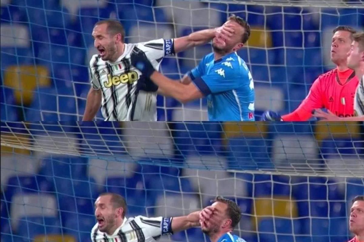 """Calcio: si cominciava col 2° risultato positivo per la Fiorentina: Torino Genoa 0-0; Napoli-Juventus finale  1-0 (Rigore Insigne); poi però si paventava quello assolutamente negativo: Spezia Milan """"finale con sorpresissima"""" 2-0 !!"""