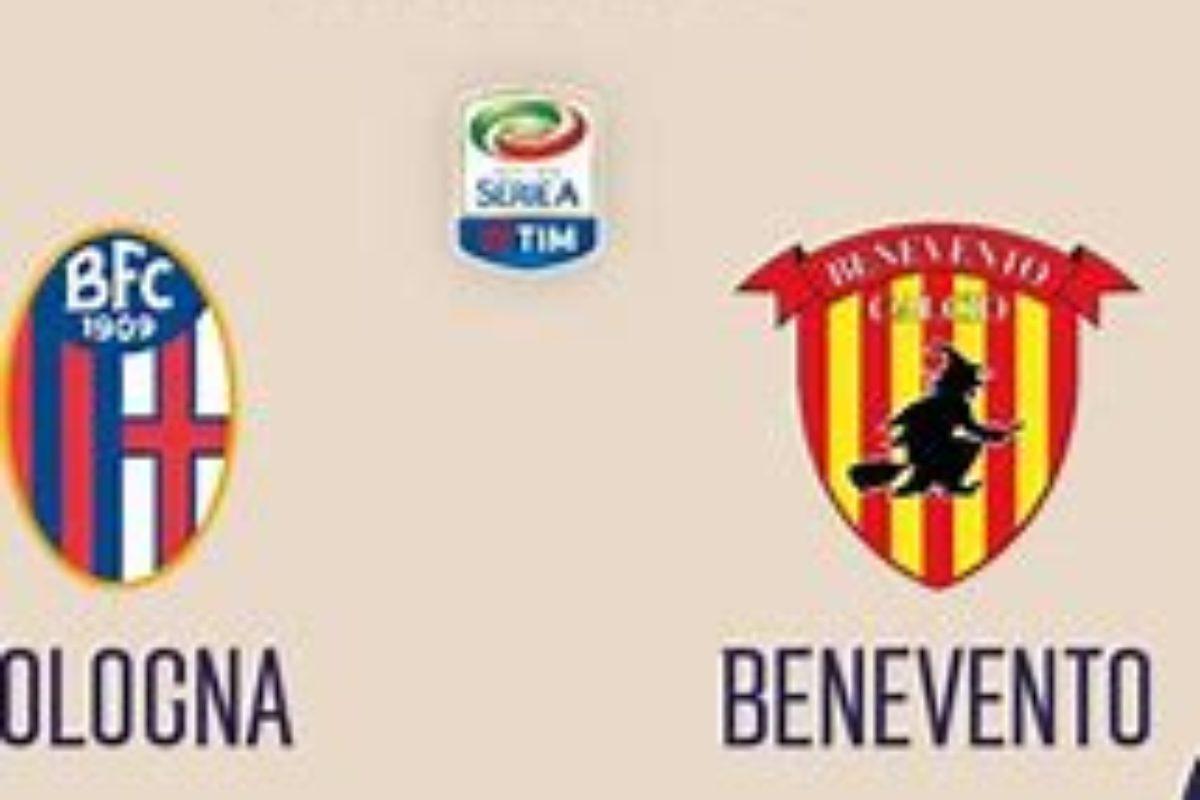 Calcio: Serie A: l'anticipo del Venerdi: Bologna Benevento: Stop al 100°…è  1-1 !!