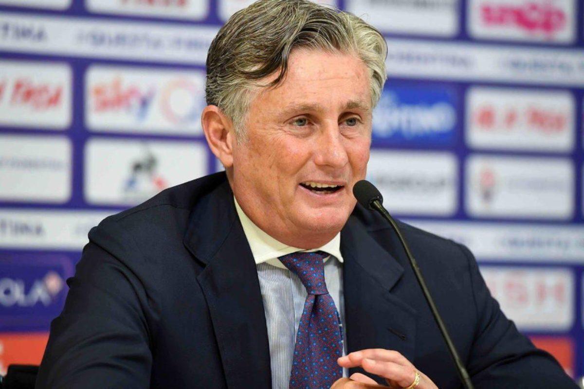 CALCIO-Il DS della Fiorentina, Daniele Prade' parla al termine del mercato di gennaio.