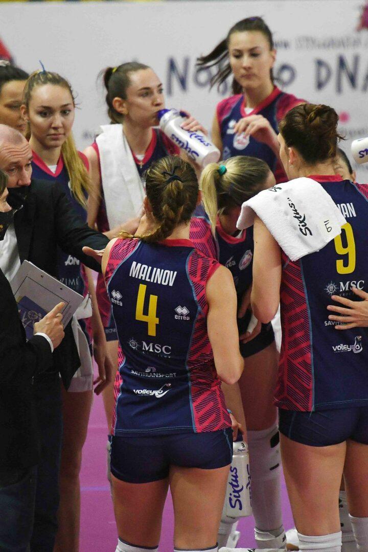 VOLLEY FEMMINILE Semifinale Playoff Savino Del Bene Scandicci-Imoco Volley Conegliano 0-3 (23-25; 19-25; 15-25)