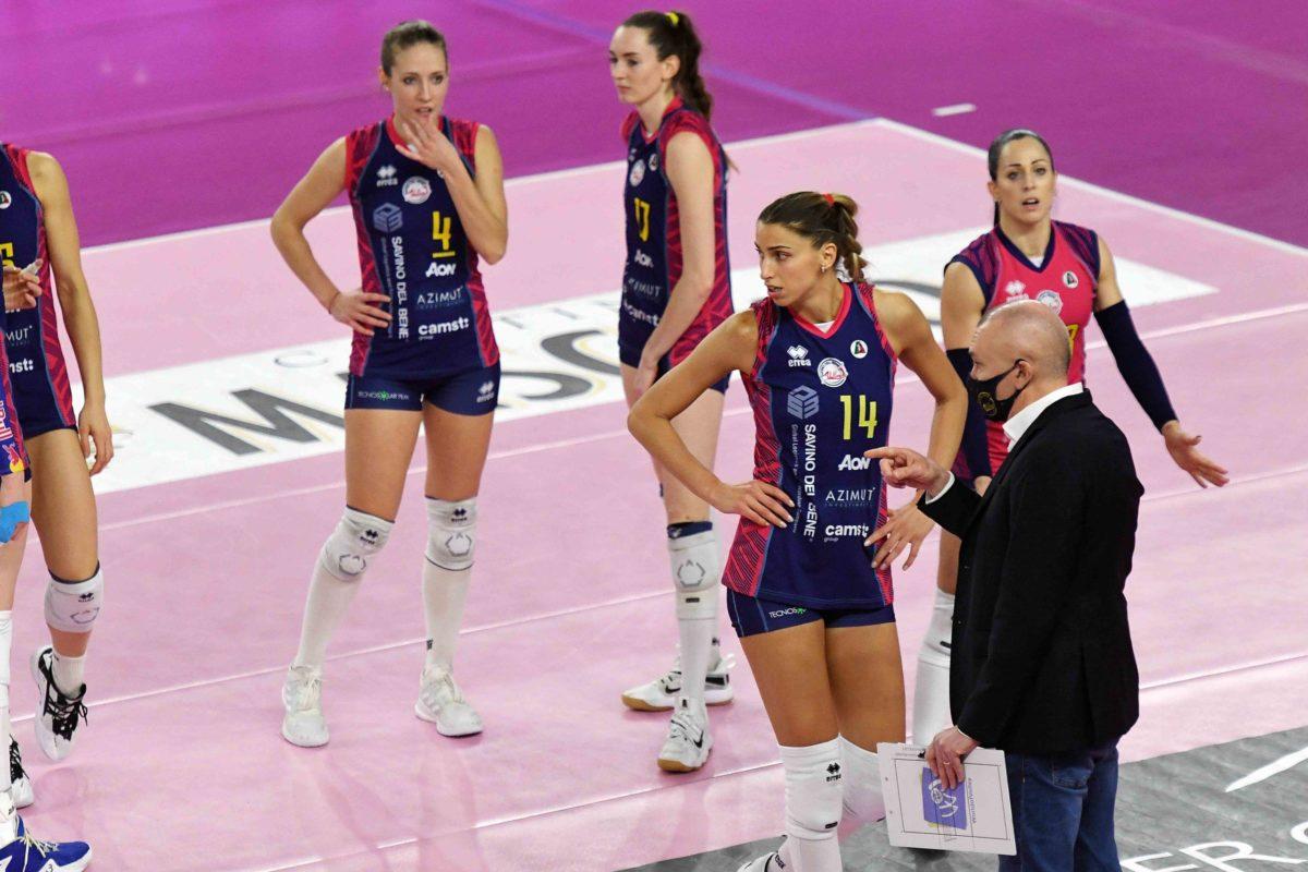 VOLLEY FEMMINILE COPPA CEV- A Scandicci, contro Conegliano, servira' l'impresa.