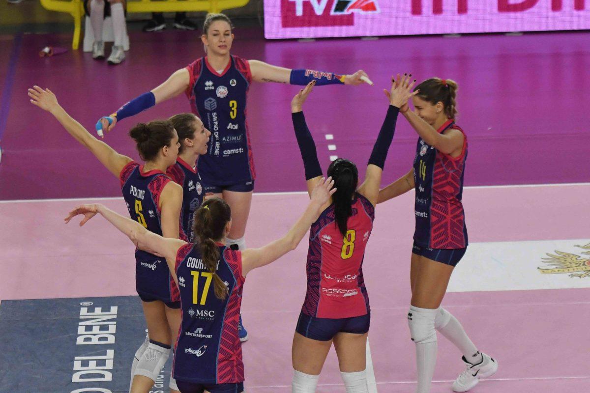 Volley: Campionato di volley femminile serie A 1 2020/2021 – SAVINO DEL BENE SCANDICCI VS IL BISONTE FIRENZE. Le foto della partita