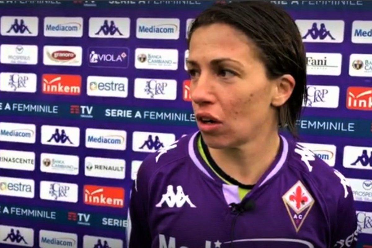 """Daniela Sabatino sempre più bomber viola: """"Campo quasi impraticabile, ma abbiamo voluto questa vittoria. L'Inter? Possiamo ribaltare il risultato"""""""