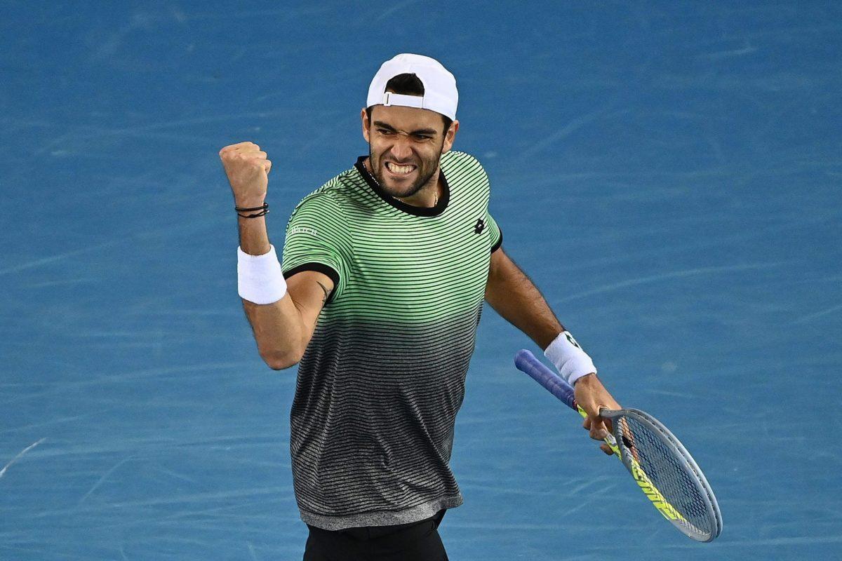 """Tennis: agli """"Australian Open"""" il nostro tifoso viola Matteo Berrettini """"vendica"""" Sonego e va agli Ottavi"""