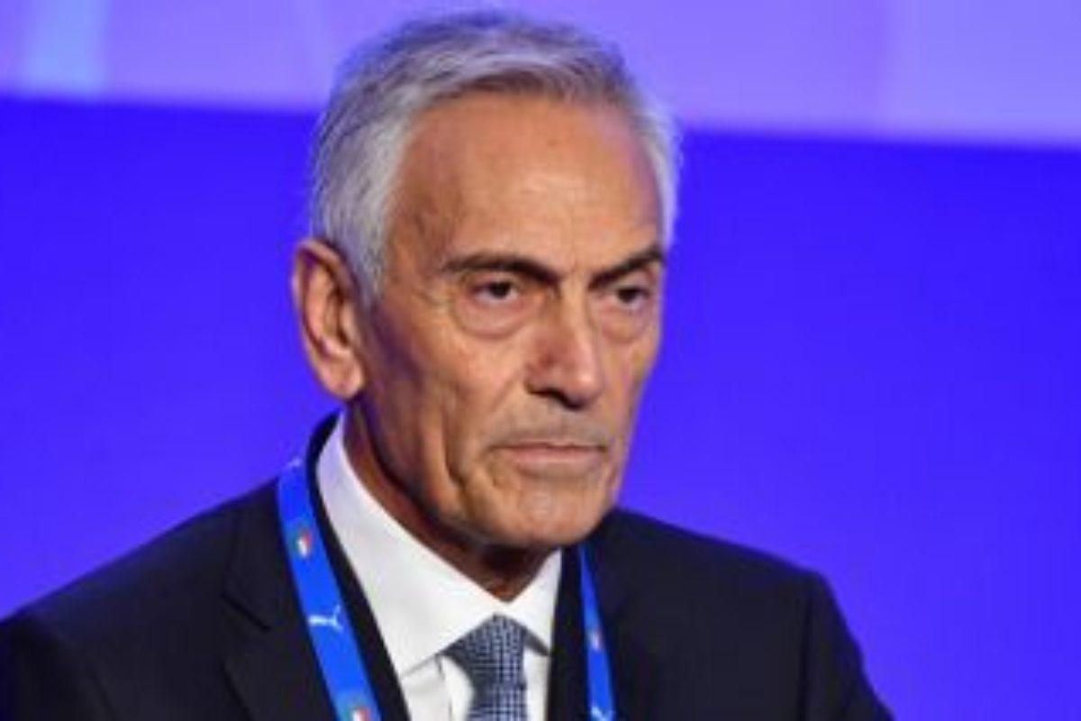 """Calcio: gabriele Gravina rieletto Presidente della Federcalcio: Sibilia """"inondato"""""""