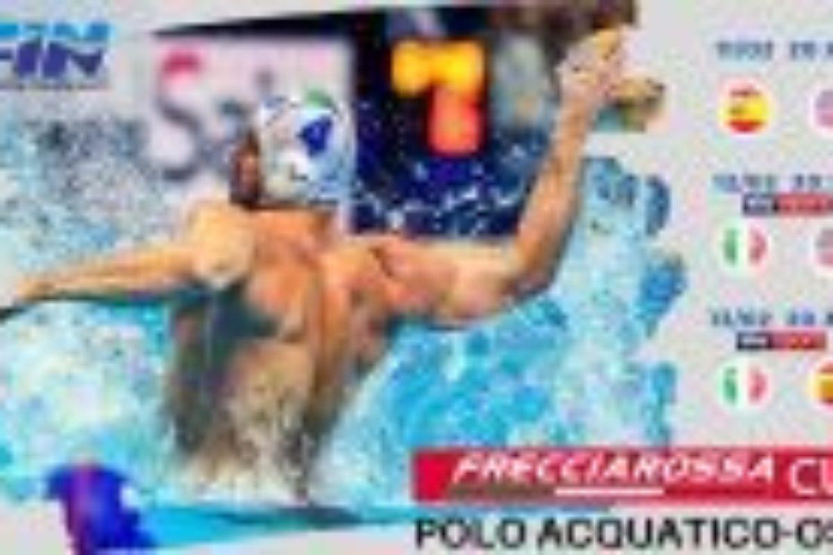 """Pallanuoto: la """"puntata testuale"""" di Palombella Tricolore  dedicata ad Alessandro Campagna; ad  Ostia Iniziato il """"Torneo Frecciarossa; stasera in acqua Italia e Stati Uniti."""