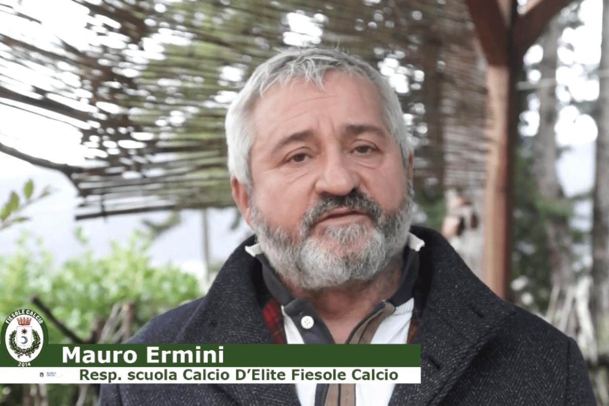 """Fiesole Calcio, Ermini: """"Speriamo nei tornei in Primavera ma con il pubblico. Positivo l'incontro con la Fiorentina"""""""
