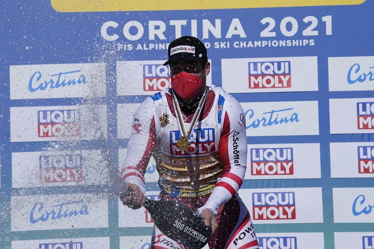 "Sci: la discesa libera a Cortina vinta da Kriechmayr; 4° a ""pari merito"" Dominique Paris; 6° Innerhofer"