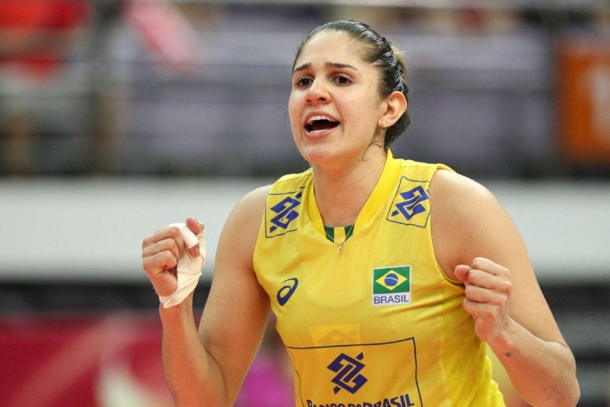 VOLLEY FEMMINILE SERIE A1,  Per i media brasiliani, la forte schiacciatrice brasiliana Natalia Pereira sarebbe vicina alla Savino Del Bene Scandicci.