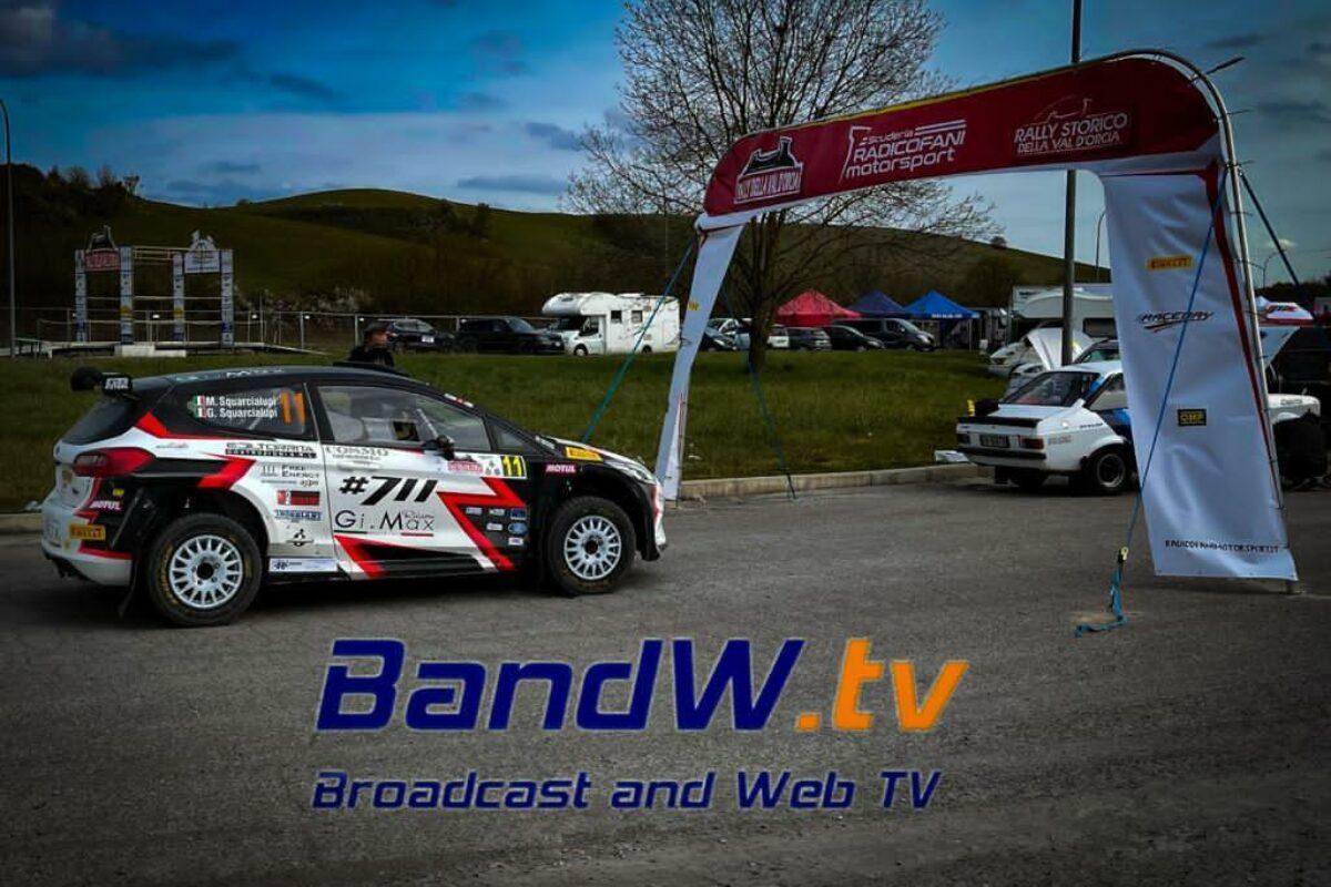 Partiti! Oggi si corre il 12° Rally della Val d'Orcia, ed il 3° Rally Storico. Segui il live su www.bandw.tv/live