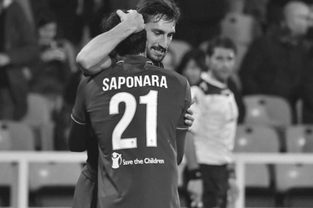 """Calcio: Riccardo Saponara """"scrive"""" a Davide Astori"""