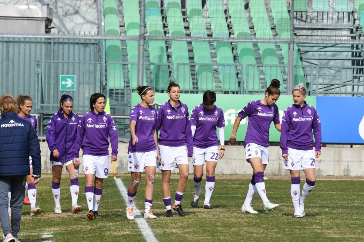 La Fiorentina femminile perde anche in trasferta contro il Sassuolo