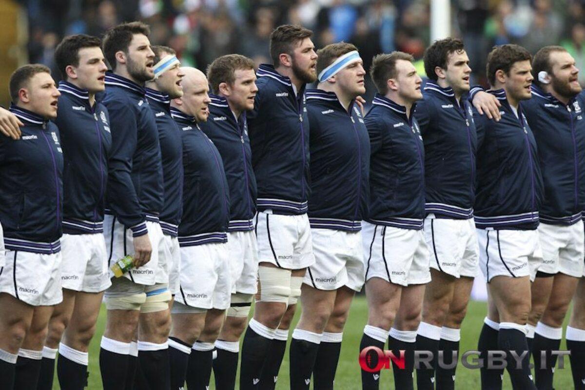 RUGBY Sei Nazioni, il XV della Scozia per la sfida all'Italia