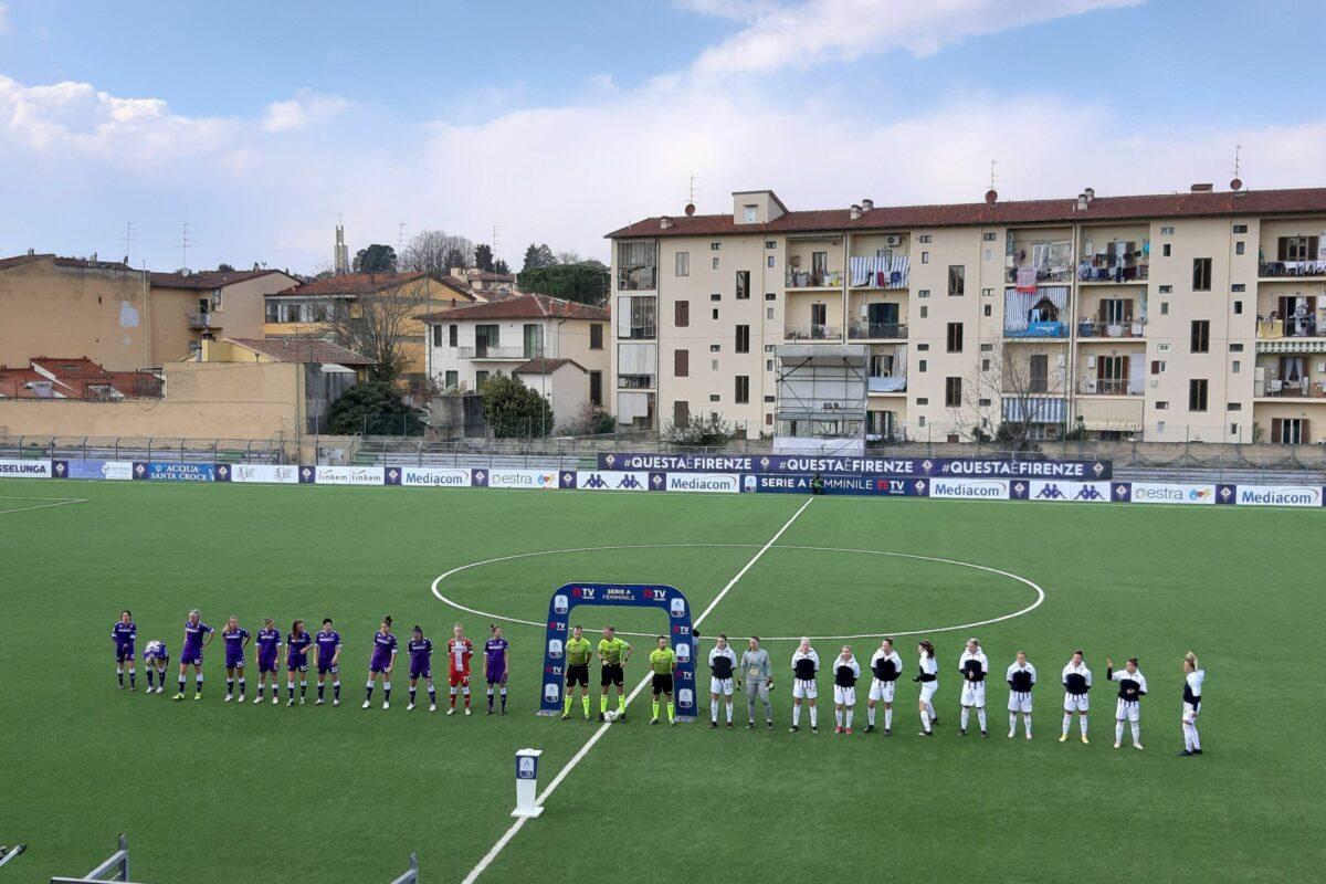Fiorentina Femminile-Juventus Women 1-2: settima sconfitta in campionato per le viola