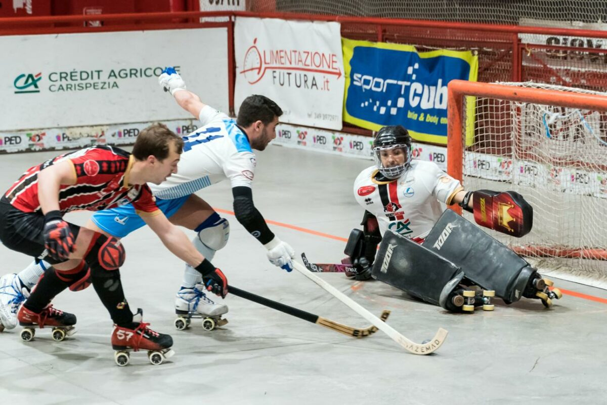 Pianeta Hockey a Rotelle 196: Il Trissino espugna Sarzana ed e' secondo, laddove adesso comanda Forte dei Marmi !!
