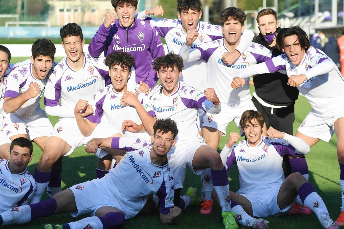 Calcio: Campionato Under 18; concluso il 6° turno: Fiorentina che dopo aver battuto la Roma 2-1 è la capolista del girone