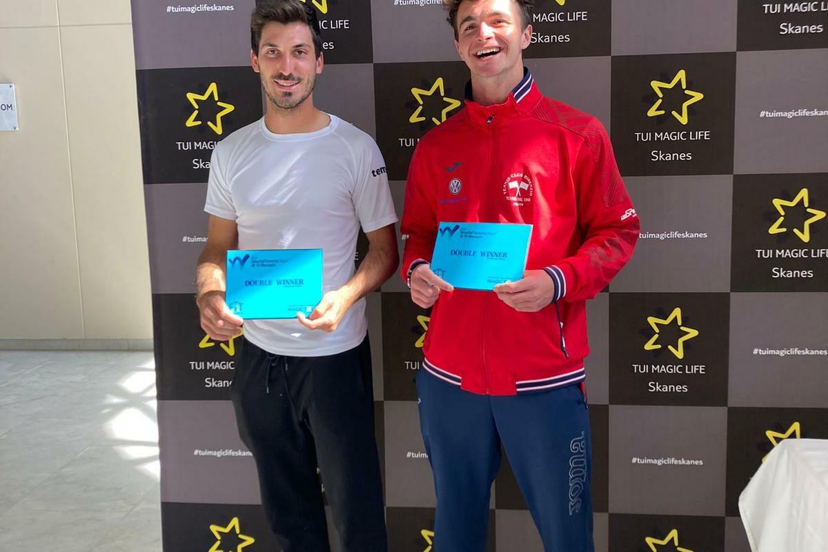 Tennis: Capecchi-Pieri vincono il Torneo di Doppio a Monastir ( Tunisia)