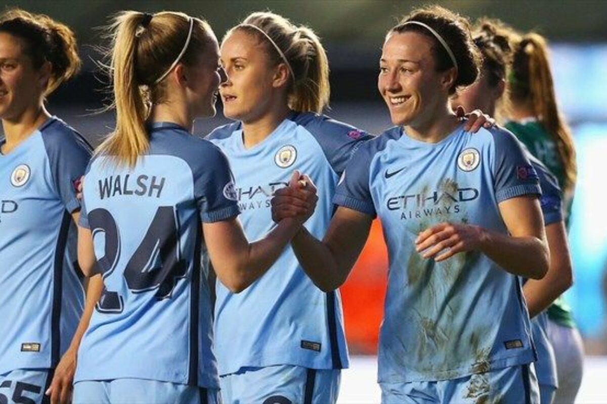 Il Manchester City donne torna a giocare in Italia in Champion's