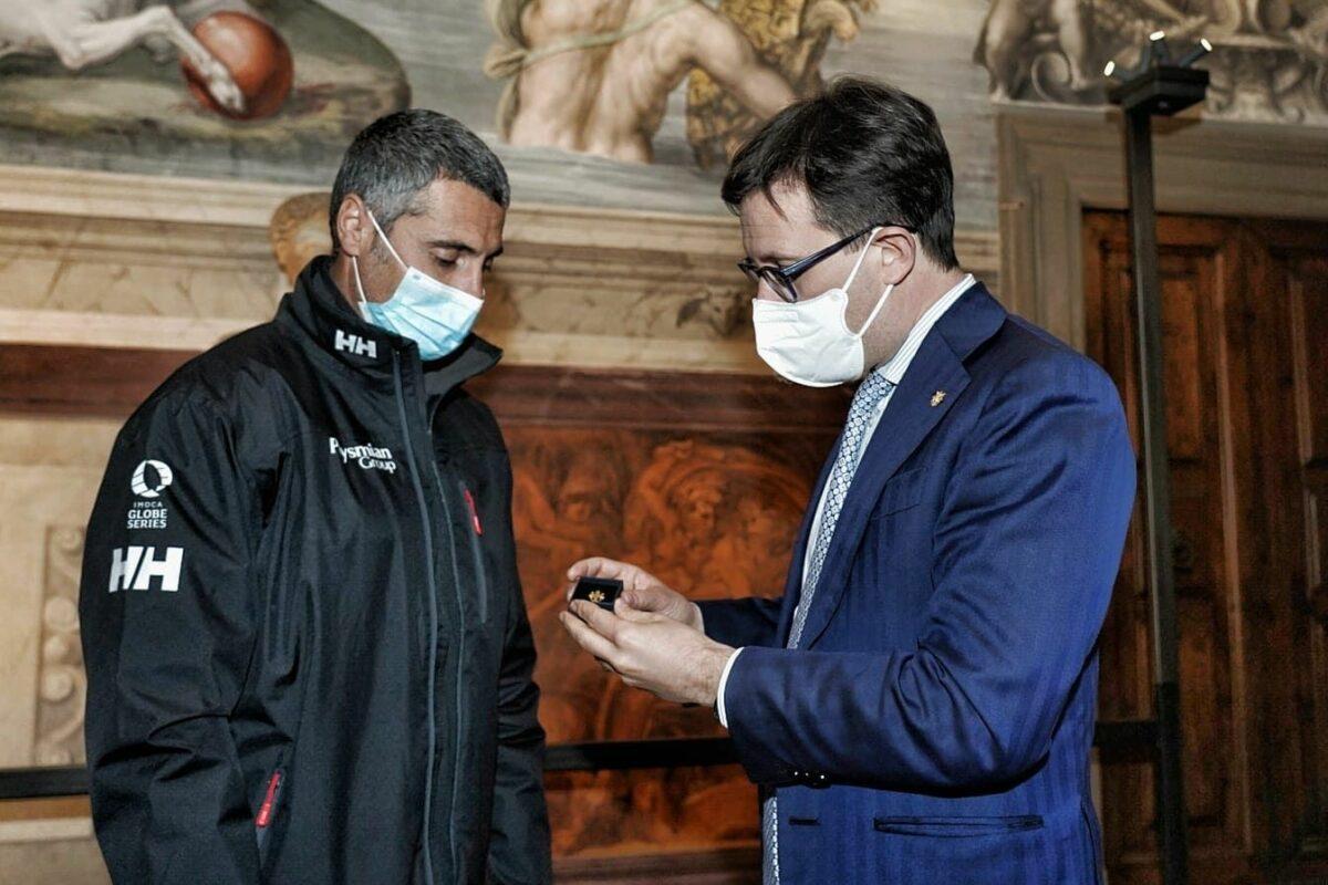 """A Giancarlo Pedote il Giglio D'Oro: """"Il mio sogno continua"""""""