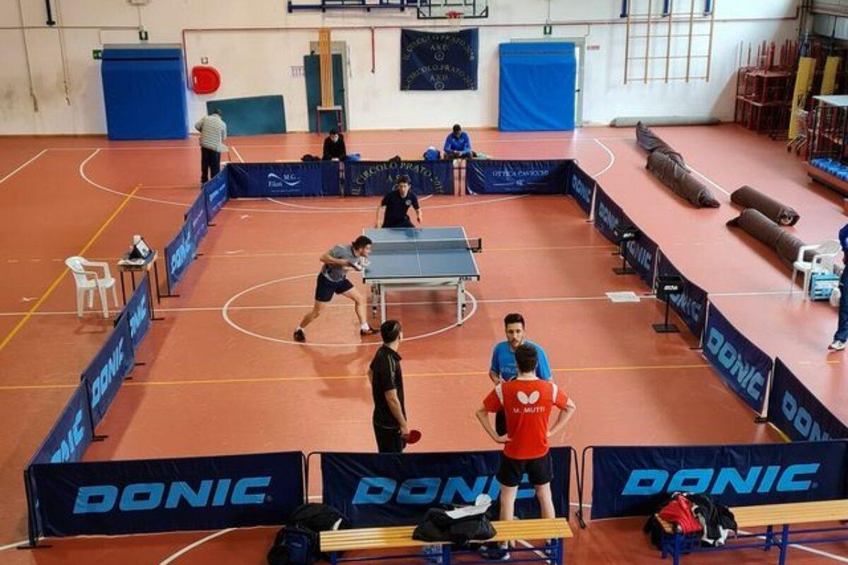 Tennis tavolo: Serie A: Bel successo del Circolo Prato 2010