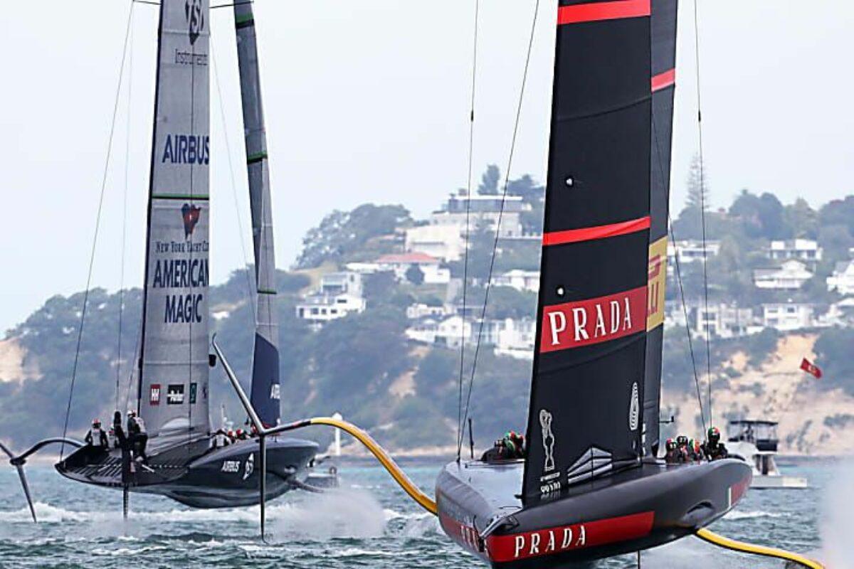 """<span class=""""hot"""">Live <i class=""""fa fa-bolt""""></i></span> Vela; la 36° Coppa America rimane in Nuova Zelanda: Emirates vince ancora e stavolta definitivamente: 7-3 !! Ma """"Brava lo stesso"""" a Luna Rossa"""