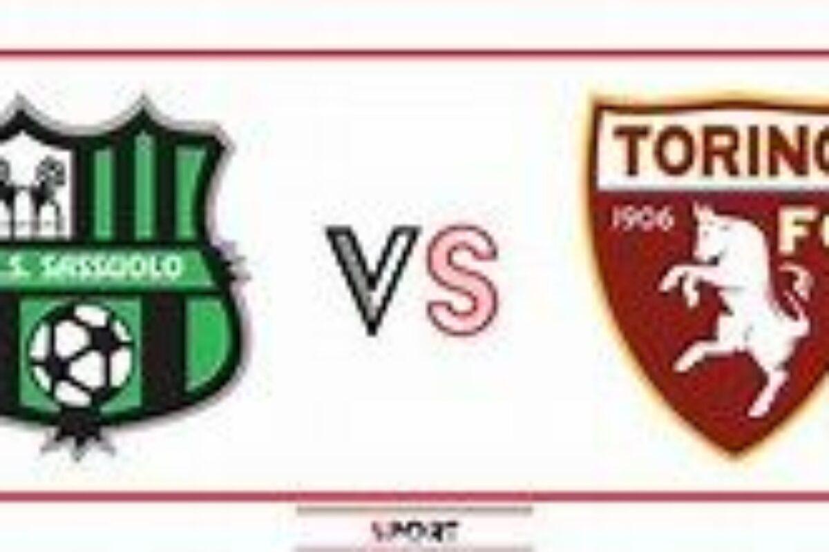 """Calcio: che ribaltone al """"Grande Toro"""": Il Torino sotto 0-2  col Sassuolo, vince in """"Zona Cesarini"""" 3-2"""