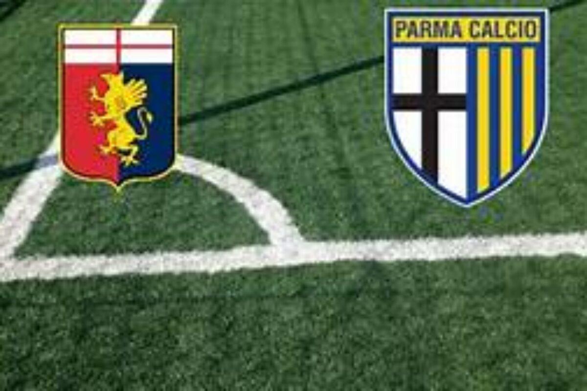 """Calcio: Nell'anticipo decisivo per la salvezza il Genoa """"opziona"""" la permanenza in Serie A, il Parma affonda: 1-2"""