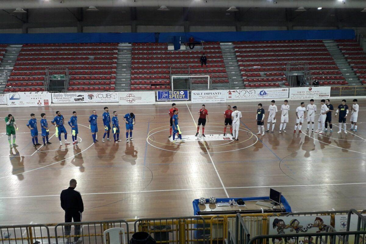 Calcio a 5: A2/ Gir.A: lo spareggio salvezza  Prato Calcio5-Aosta FINALE  2-3