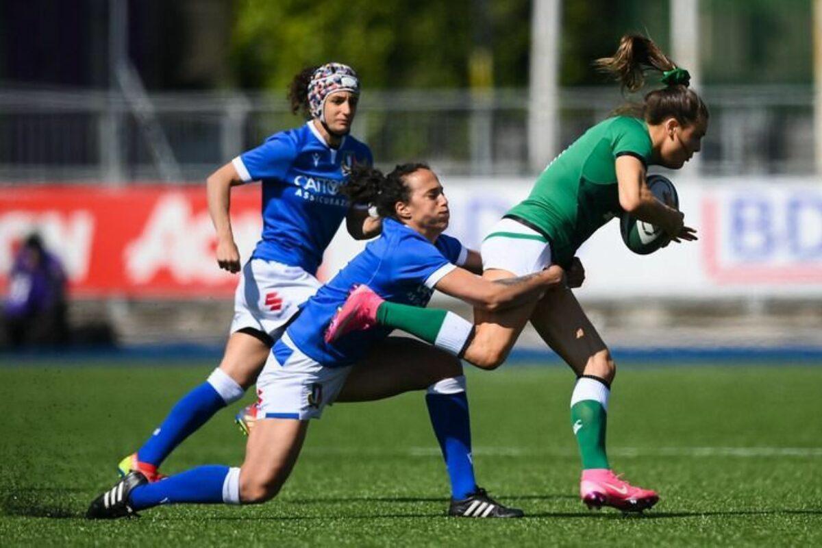 RUGBY Sei Nazioni Femminile- Irlanda-Italia 25-5, le azzurre chiudono quarte.