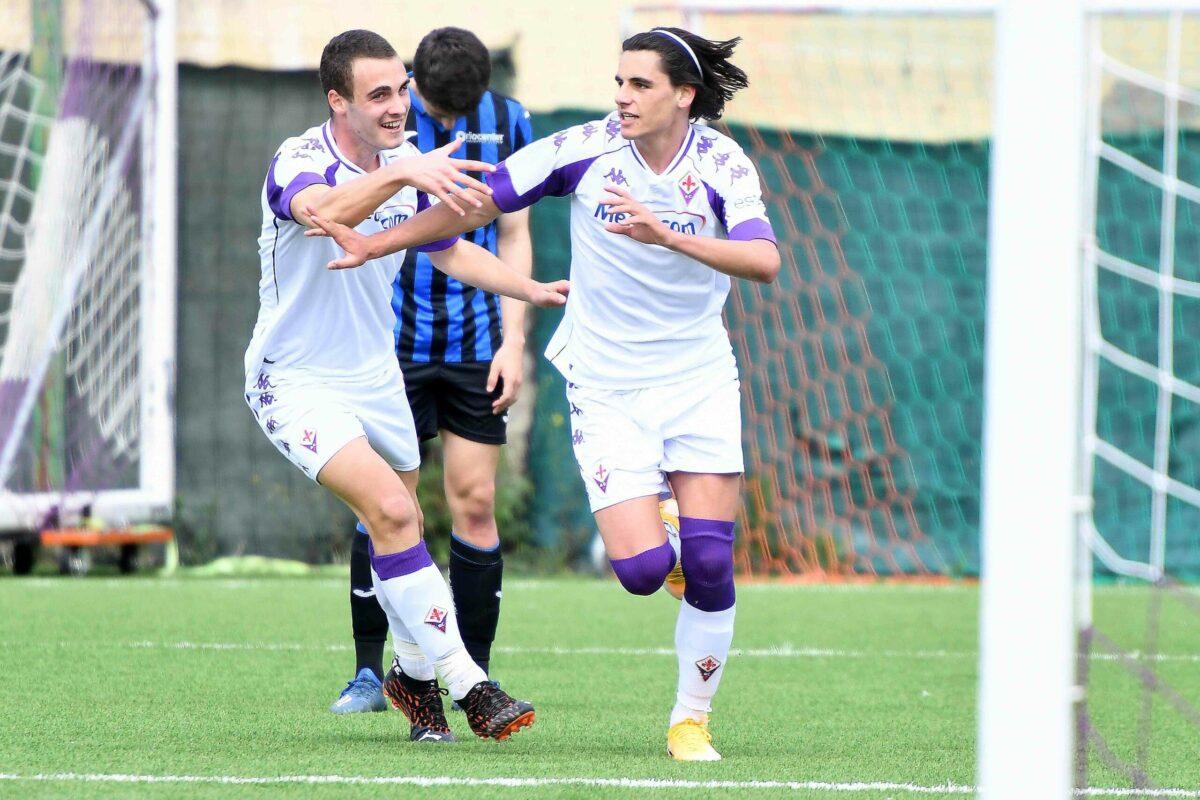Calcio Campionato Under 18 Fiorentina Atalanta  Finale: 1-1 la sbloccava Andrej, pareggio di Lozza (Rig). Arbitraggio scandaloso !!