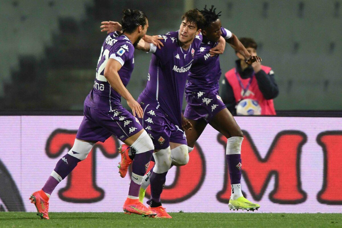 """Calcio: le pagelle di Fiorentina Atalanta del Direttore :""""Non ci basta un super Vlahovic che sale a 15..!!"""""""
