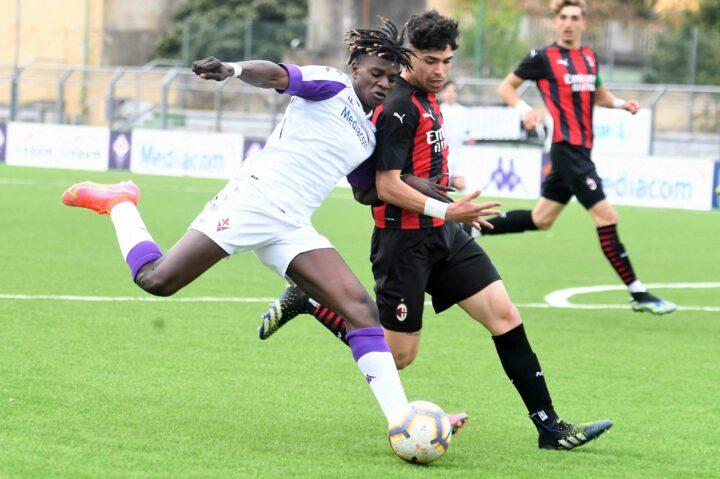 Calcio: Campionato Nazionale Under 18 – A.C.F. FIORENTINA VS MILAN. Le foto della partita