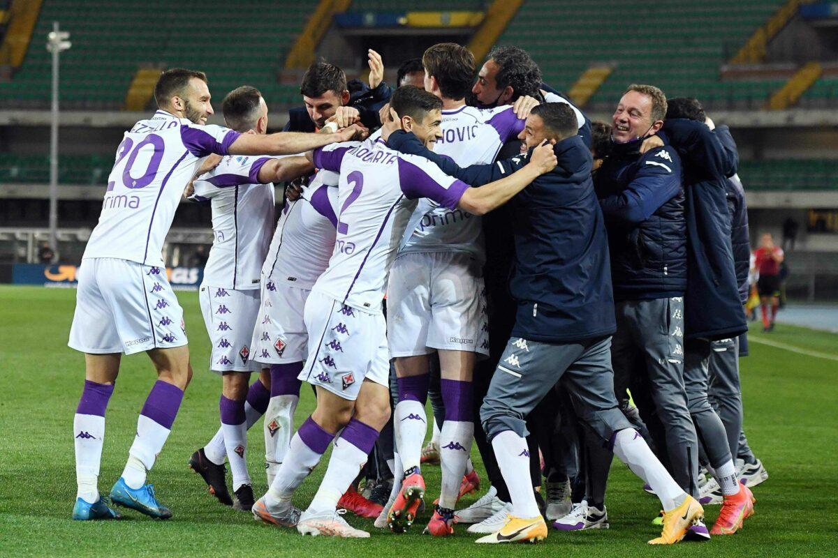 Fiorentina e uno scatto d'orgoglio contro un Verona in pantofole