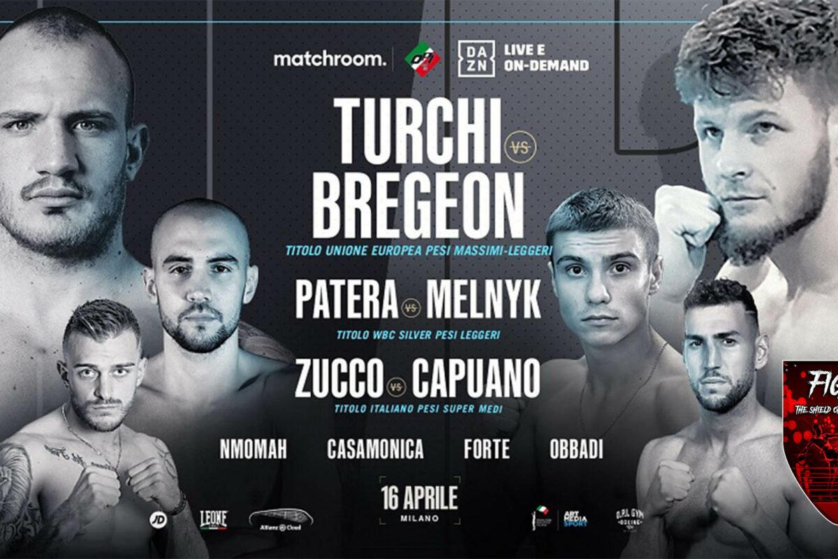Questa sera Turchi sfida Bregeon per il titolo dell'Unione Europea de massimi leggeri