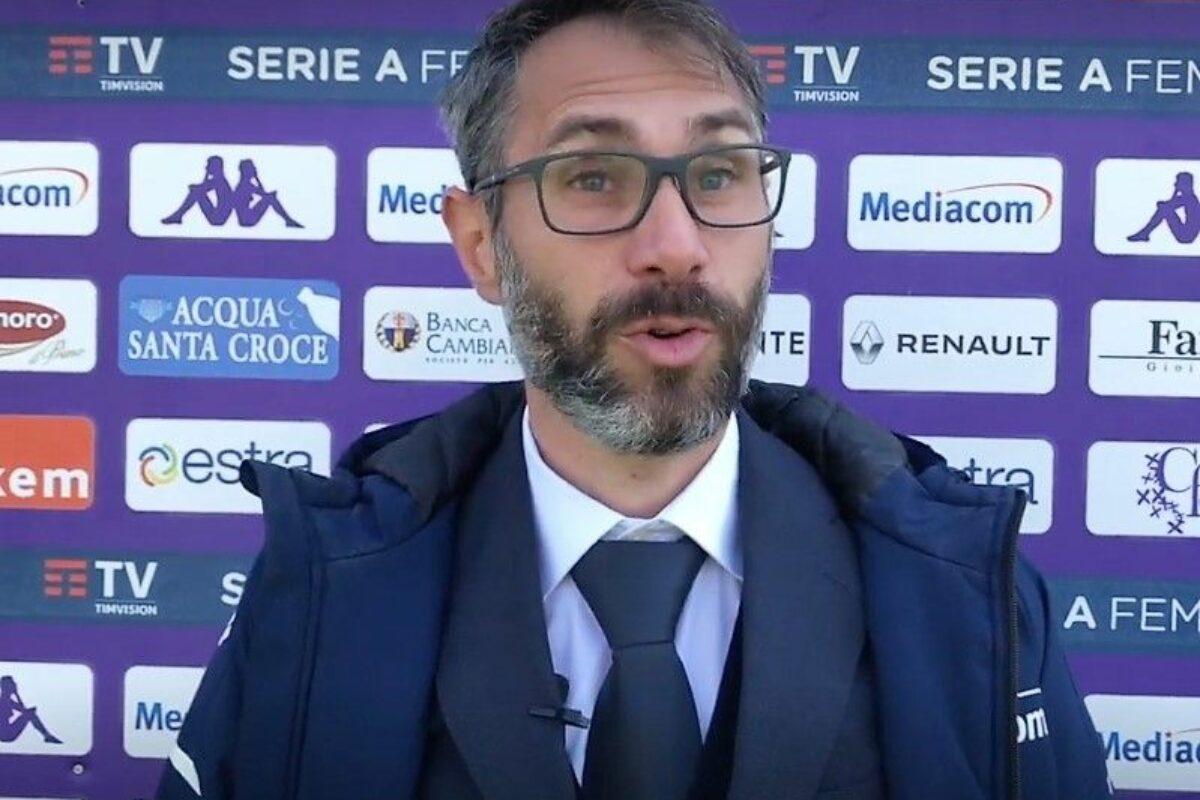 """Cincotta: """"Complimenti alla Roma. Noi siamo calate nella ripresa…"""""""