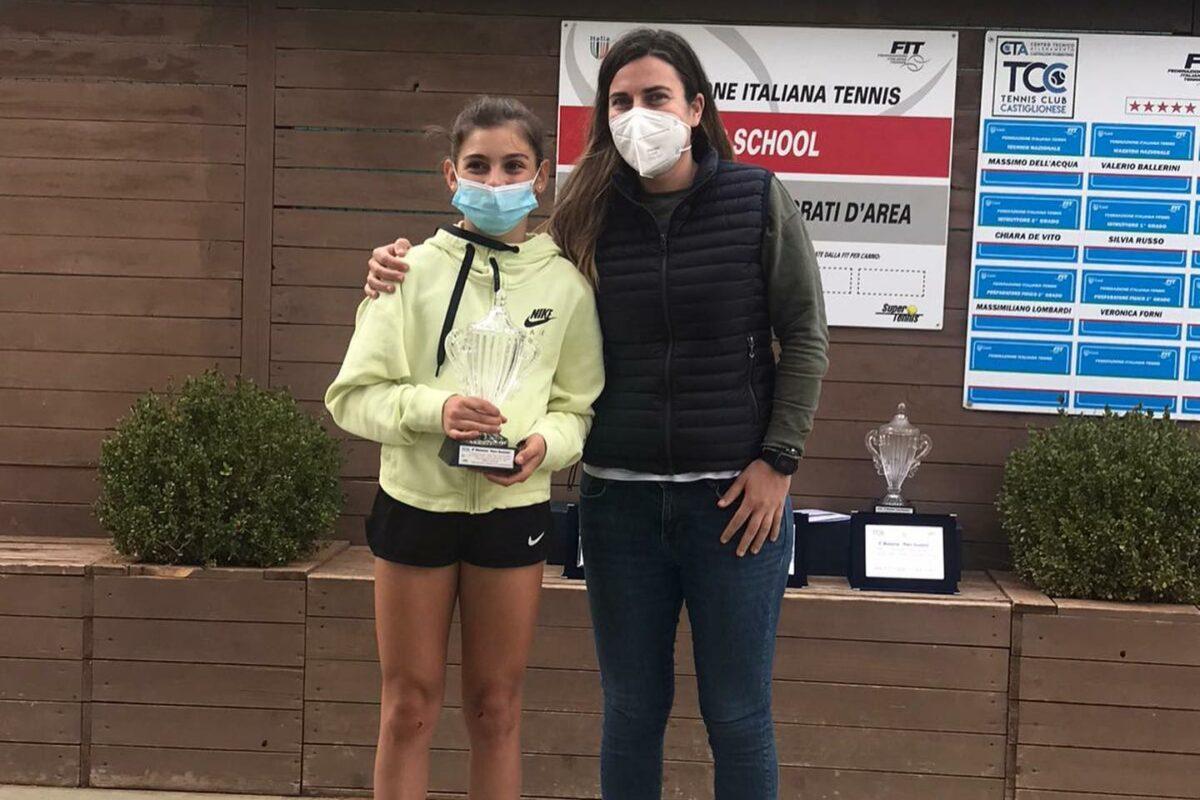 Tennis: E' ancora proscenio per la giovane pratese Vittoria Vignolini
